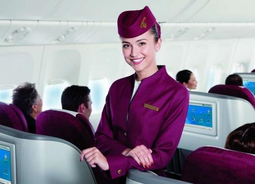Hãng hàng không Qatar của nước nào mà đạt tới tiêu chuẩn 5 sao?