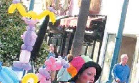 Phố đi bộ Santa Monica thành phố
