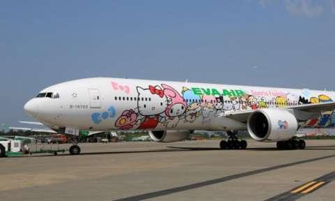 Eva Air một trong các hãng máy bay đi Canada tại TPHCM