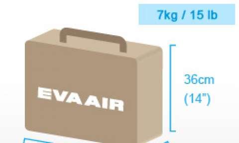 Quy định hành lý xách tay của EVA Air