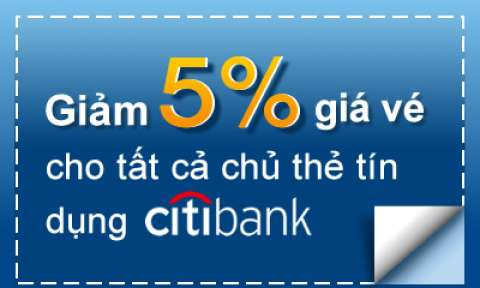 Ưu đãi lớn từ EVA AIR - Giảm 5% giá vé máy bay cho chủ thẻ Citibank, HSBC, ANZ