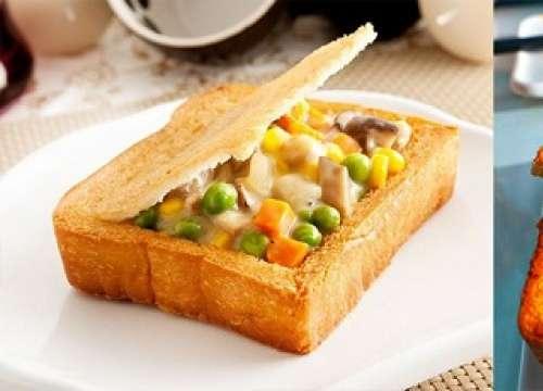 """Đến Đài Loan phải ăn bánh mì """"quan tài"""""""