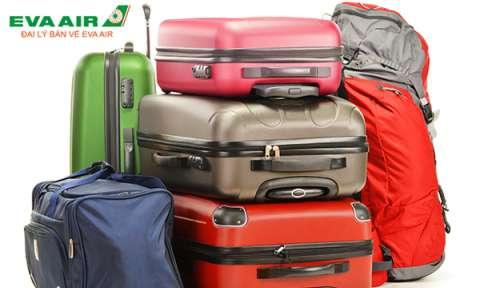 Thông tin hành lý hãng Eva Air