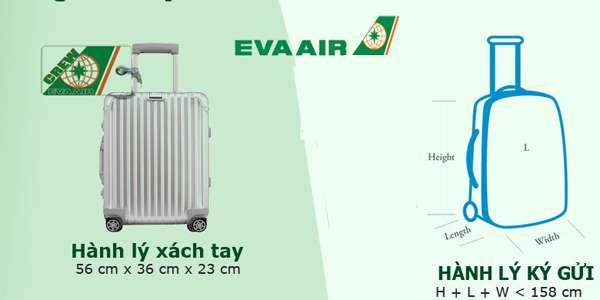 Image result for quy đinh hành lý  eva air