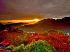Mùa lá đỏ Đài Loan