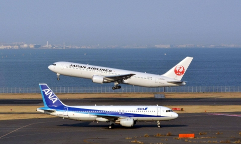 Vé máy bay đi Mỹ hãng Nhật