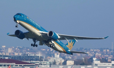 Giá vé máy bay đi Mỹ của Vietnam Airline