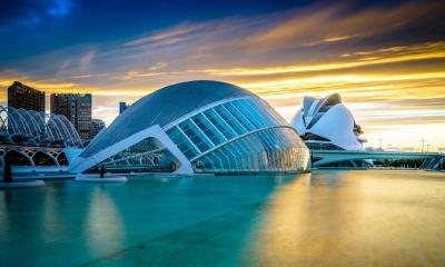 Vé máy bay EVA Air giá rẻ đi Valencia - Tây Ban Nha