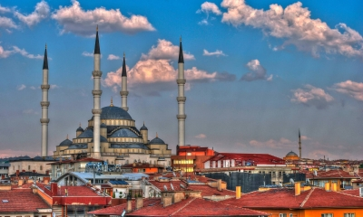 Vé máy bay giá rẻ đi Ankara hãng EVA Air