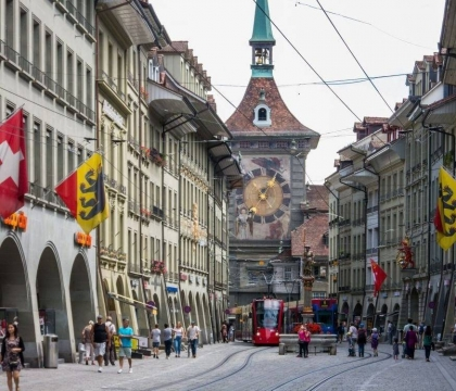 Vé máy bay giá rẻ đi Bern hãng EVA Air