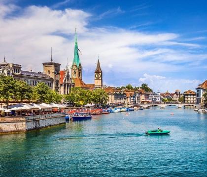 Vé máy bay giá rẻ đi Zurich hãng EVA Air
