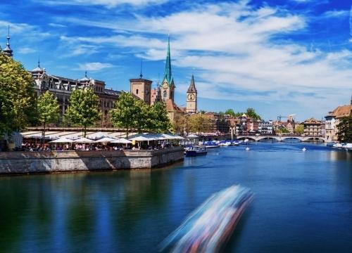 Vé máy bay giá rẻ đi Thụy Sĩ hãng EVA Air