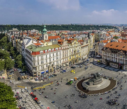 Vé máy bay giá rẻ đi Praha hãng EVA Air