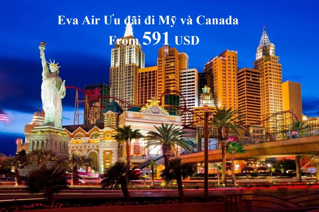 khuyến mãi Eva Air