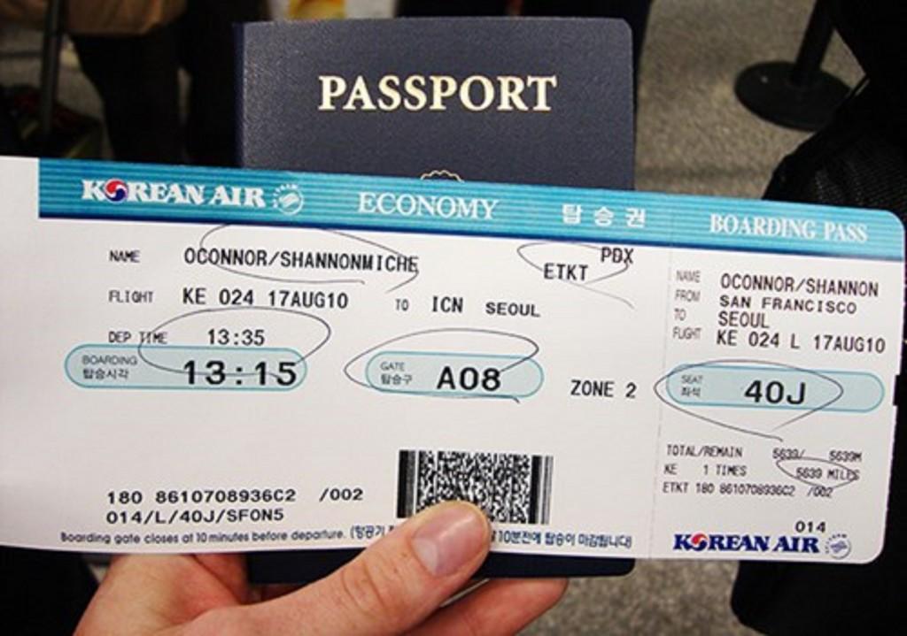 Cách đổi vé máy bay