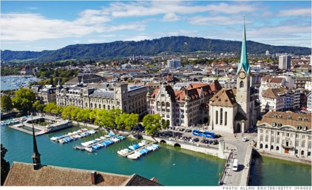 Tour du lịch Thụy Sĩ 2