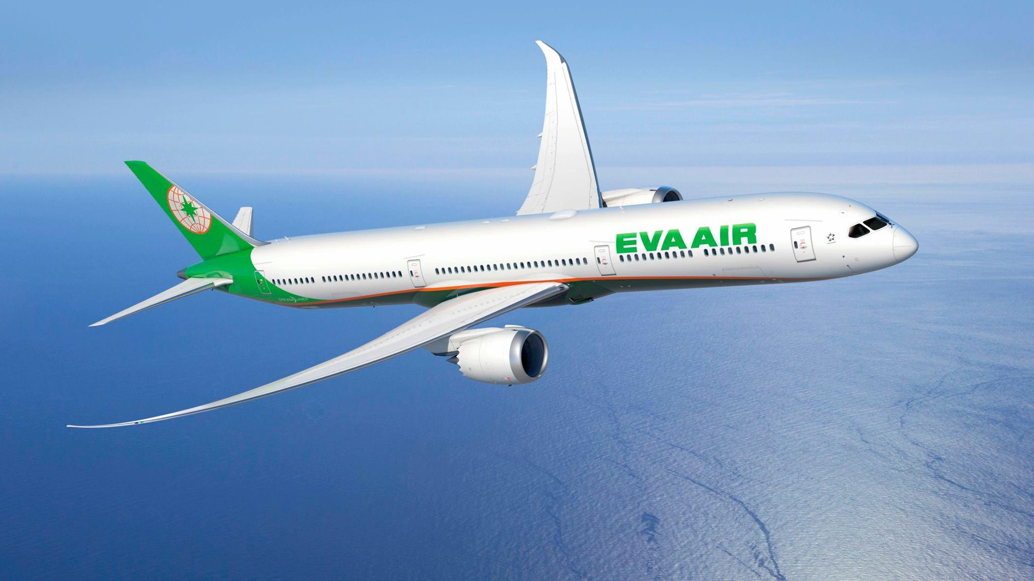 Image result for máy bay eva air